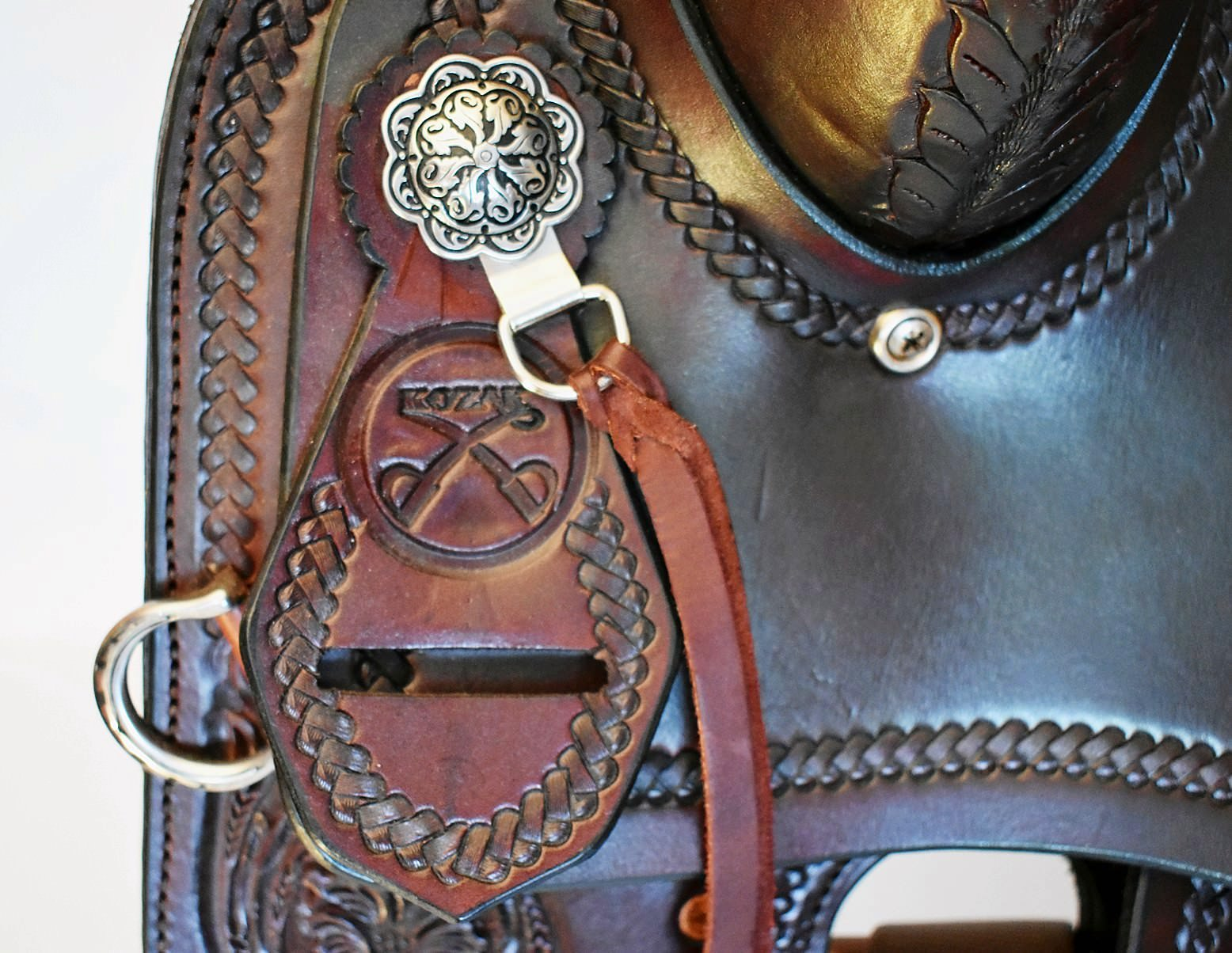 Custom Kozak Western Saddle, Model: Performer